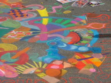 Temecula Chalk Festival - drawing 10'x10'