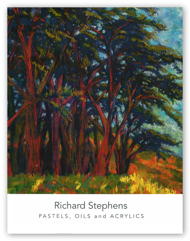 Richard Stephens, Pastels, Oils, and Acrylics